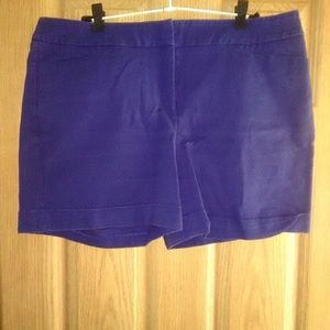 Apt 9 Essentials Stretch Cuffed Shorts Sz 16 EUC!